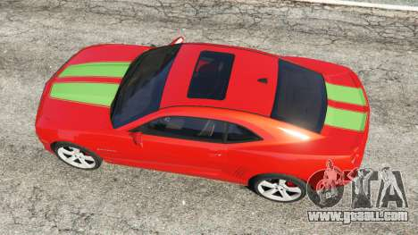 GTA 5 Chevrolet Camaro SS 2010 [Beta] back view
