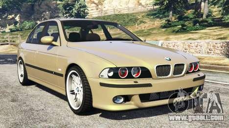 BMW M5 (E39) for GTA 5