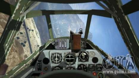 GTA 5 Messerschmitt BF-109 E3 v1.1 fifth screenshot