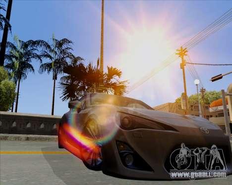 Vitesse ENB V1.1 Low PC for GTA San Andreas