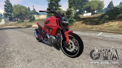 Ducati Diavel Carbon 2011 for GTA 5