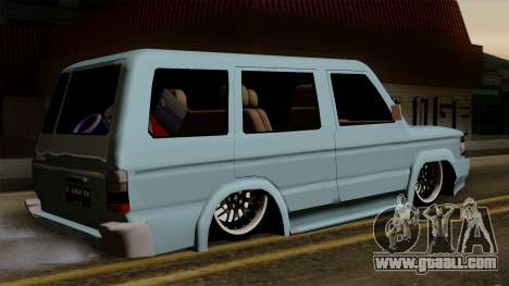 Toyota Kijang Grand Ext for GTA San Andreas left view