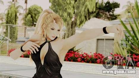 DOA 5 Sarah BlackDress for GTA San Andreas