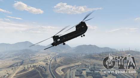 MH-47G Chinook for GTA 5