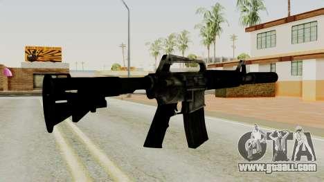 M4A1-S Basilisk for GTA San Andreas second screenshot