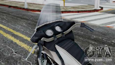 Bike Cop from Bully for GTA San Andreas right view