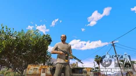 GTA 5 AEK-971 из Battlefield 4 second screenshot
