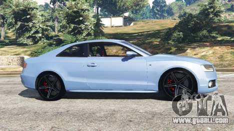 GTA 5 Audi S5 Coupe left side view