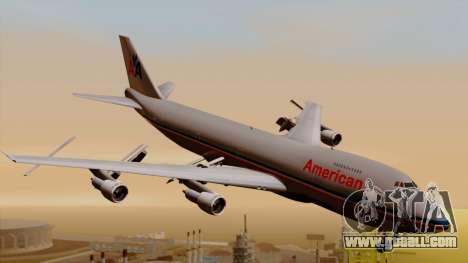 Boeing 747-100 American Airlines for GTA San Andreas