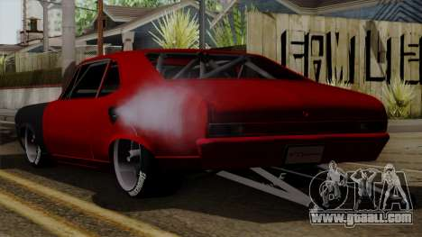 Chevrolet Nova SS for GTA San Andreas left view