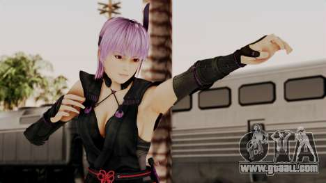 DOA 5 Ayane Ninja for GTA San Andreas