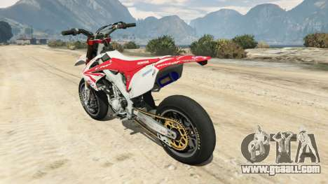 Honda CRF450 Turbo Motard