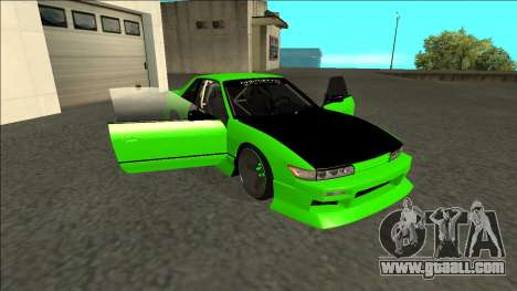 Nissan Silvia S13 Drift Monster Energy for GTA San Andreas side view