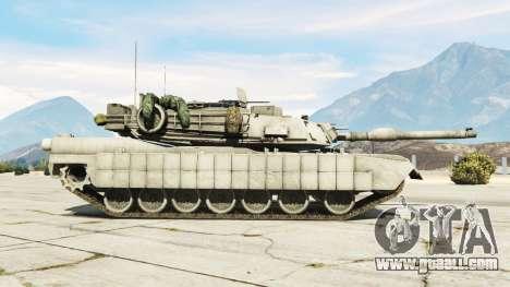 GTA 5 M1A2 Abrams v1.1 left side view