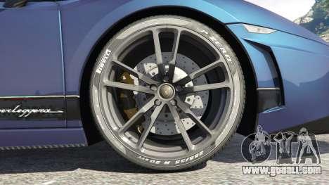 GTA 5 Lamborghini Gallardo LP 570-4 2011 Superleggera rear right side view