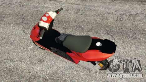 Yamaha Aerox for GTA 5