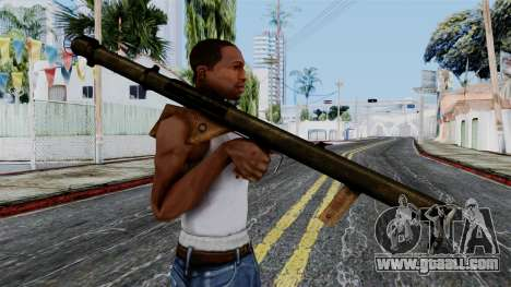 Bazooka from Battlefield 1942 for GTA San Andreas third screenshot