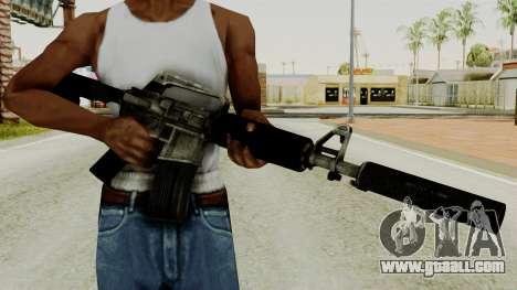 M4A1-S Basilisk for GTA San Andreas third screenshot