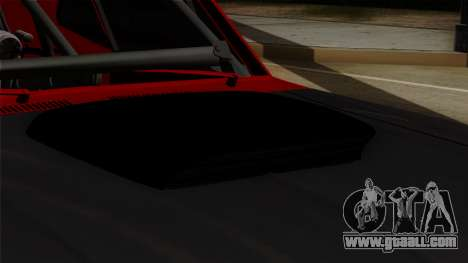 Chevrolet Nova SS for GTA San Andreas back view