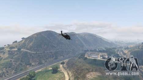 MH-60L Black Hawk for GTA 5