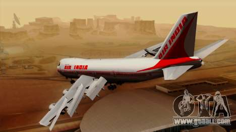Boeing 747-237B Air India Flight 182 for GTA San Andreas left view