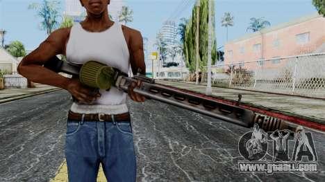 MG 42 from Battlefield 1942 for GTA San Andreas third screenshot