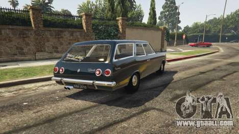 GTA 5 Chevrolet Caravan 1975 2.0 rear left side view