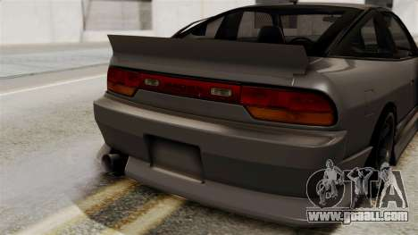 Nissan 240SX for GTA San Andreas back view