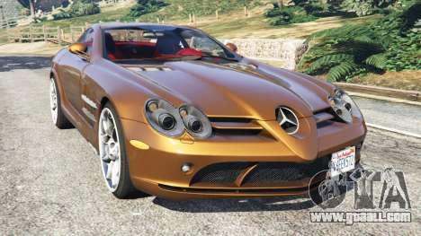 Mercedes-Benz SLR McLaren 2015 for GTA 5