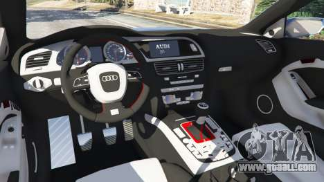 GTA 5 Audi S5 Coupe front right side view