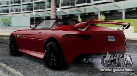 GTA 5 Benefactor Surano v2 IVF for GTA San Andreas left view