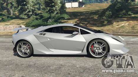 GTA 5 Lamborghini Sesto Elemento v0.5 left side view