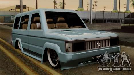 Toyota Kijang Grand Ext for GTA San Andreas