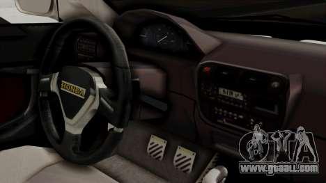 Honda Civic Sedan for GTA San Andreas right view