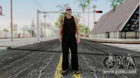 Alice Baker Old Member for GTA San Andreas second screenshot