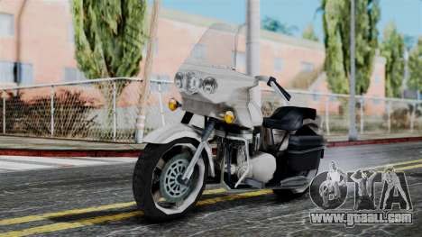 Bike Cop from Bully for GTA San Andreas