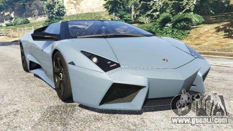 Lamborghini Reventon Roadster [Beta] for GTA 5
