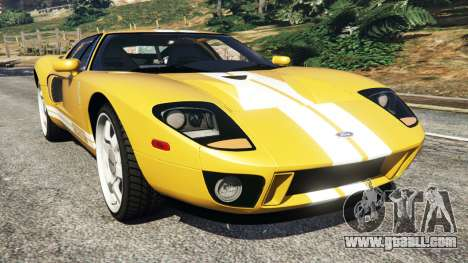 Ford GT 2005 v1.1 for GTA 5