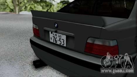 BMW M3 E36 Widebody v1.0 for GTA San Andreas back view