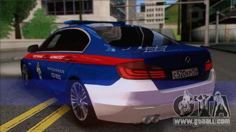 BMW 520 Investigation Committee for GTA San Andreas left view