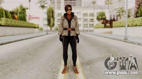 DOA 5 Lisa Hamilton Fashion for GTA San Andreas second screenshot
