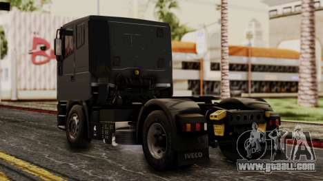 Iveco EuroStar Low Cab for GTA San Andreas left view