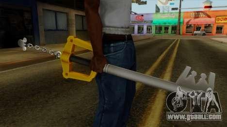 Kingdom Hearts - The Kingdom Key for GTA San Andreas third screenshot