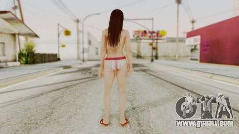 DOA 5 Lei Fang Bikini for GTA San Andreas