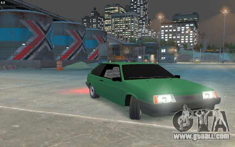 VAZ 2108 for GTA 4 left view