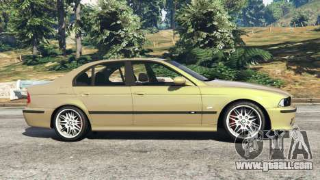 GTA 5 BMW M5 (E39) left side view