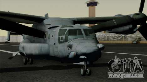 MV-22 Osprey for GTA San Andreas right view