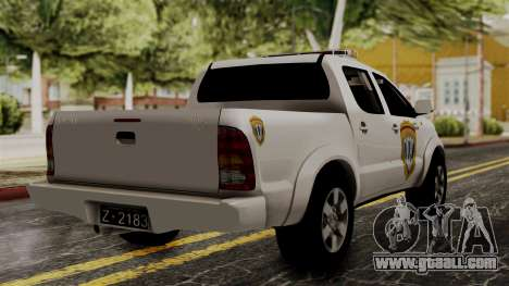 Toyota Hilux CICPC 2007 for GTA San Andreas left view