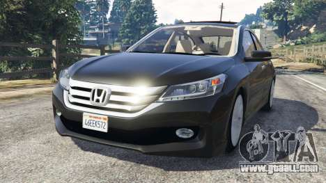 Honda Accord 2015 for GTA 5