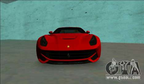 Ferrari F12 Berlinetta for GTA Vice City right view